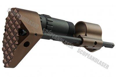 for Marui G/&P M Series AEG Airsoft G/&P Battery Carry Folding Stock Viper CQB